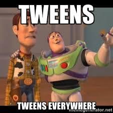 tweenseverywhere