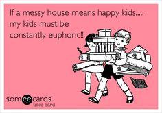 messyhousehappykids
