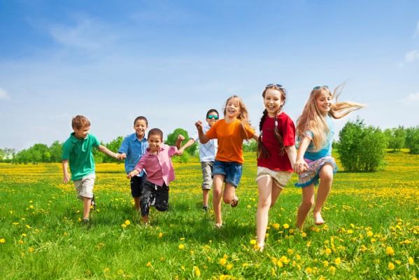 childrenrunning