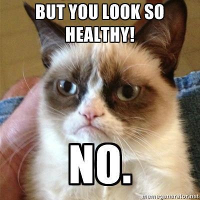 grumpycatbutyoulookhealthy
