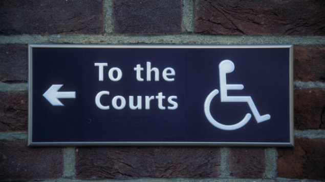 courtdisabilitysign