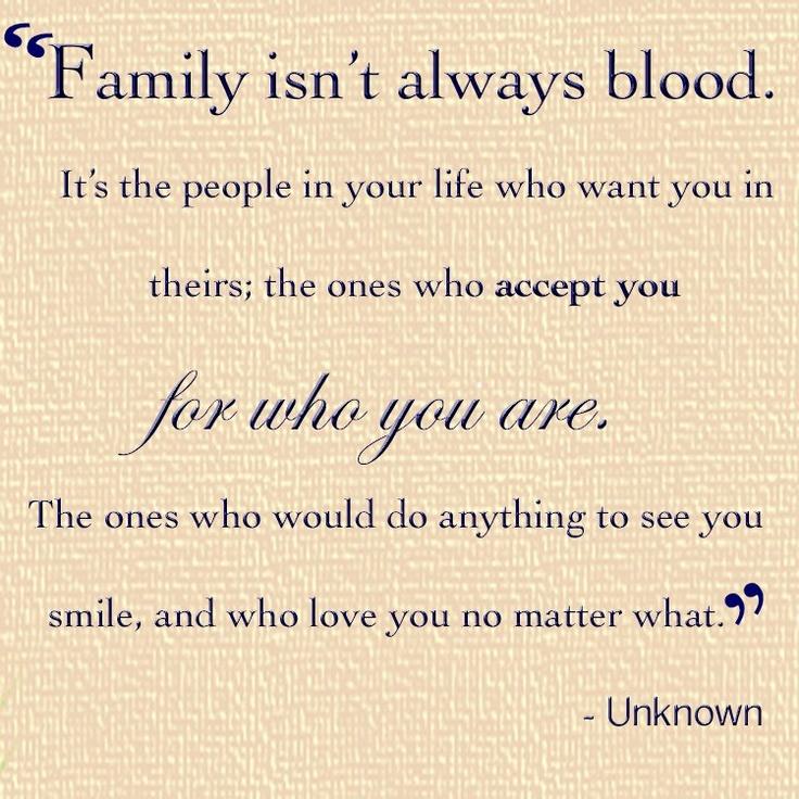 familyisntblood